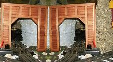 O GAUGE TUNNEL PORTALS - TIMBER FRAMED / Model Railroad Train Scenery / Set of 2
