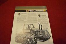 Caterpillar 65 Challenger Tractor Dealer's Brochure AEDA2480 LCOH