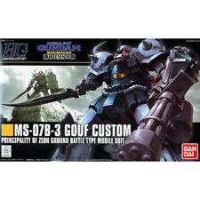 Bandai Gundam 1/144 HGUC #117 MS-07B-3 Gouf Custom Model Kit (box damaged)