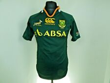 small SOUTH AFRICA Rugby Shirt  Trikot Maroc Maillot Domicile Sprinboks