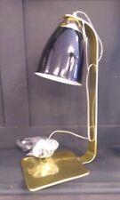 Retro Black and Gold Desk Lamp Modern Desk light