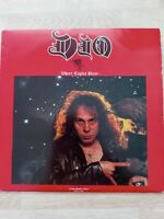 DIO VINYL / BLACK SABBATH /  2LP's / Rarität / LIVE / WHERE EAGLES BLARE