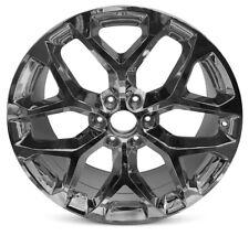 "New 22"" Chrome Wheel Rim Escalade Sierra1500 Yukon 1500 Silverado Suburban 15-16"