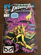 Indiana Jones and the Last Crusade #2 (Oct 1989, Marvel) Vf+/Nm-