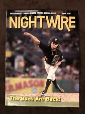 Chris Archer  PITTSBURGH Pirates NightWire Magazine  April 2019 New Unsigned