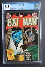 BATMAN #250 1st BATWING Black Batman Prototype 1973 Bondage Executioner CGC 8.5