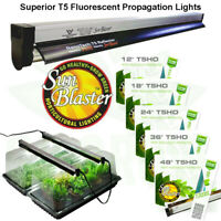 Complete  Mini Greenhouse Kit NanoDome Sunblaster T5 Light SAVE $ W// BAY HYDRO
