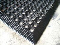 Heavy Duty Anti-FATIGUE Anti-Slip Rubber Workshop Greenhouse Mat 3ft x 2ft