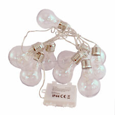 Edison LED Light Bulb 2.3m/90 Inch Chain of 10 Christmas Lights WAS £19.99