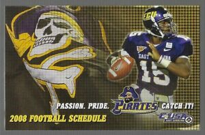 2008 East Carolina University Pirates College Football Schedule !!!