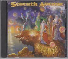 SEVENTH AVENUE Goodbye 2001 Mega Hard CD Made in Brazil Rare Hard To Find Metal