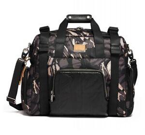TUMI Buckley Duffel Gym Bag Men's Ballistic Nylon Gray Camo  0232658GHLP NWT
