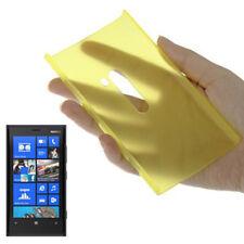 HardCase Schutzhülle für Nokia Lumia 920 in frosted gelb Etui Hülle Case Cover