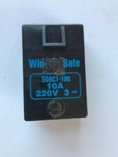 WIN-SAFE 508C1-100 10A 220V 3~ FEMALE PLUG FOR CUTTING MACHINE -FREE SHIPPING-