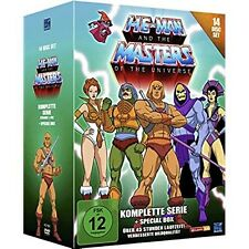 HE-MAN Y The Masters of the Universe gesamtbox [14x DVD]