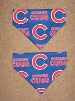 Chicago Cubs Dog Bandana - 5 sizes XS - XL