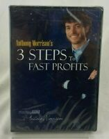 Anthony Morrison's 3 STEPS to FAST PROFITS (DVD, 2009) Financial Affiliate