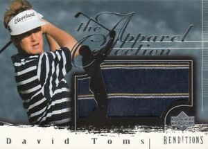 DAVID TOMS NO:AC-DT JERSEY THE APPAREL COLLECTION  in UD 2003  near mint