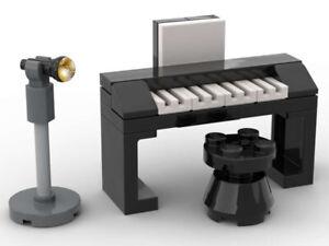 LEGO Piano Keyboard Music Jazz Club Organ Party Wedding Concert Dance Studio DJ