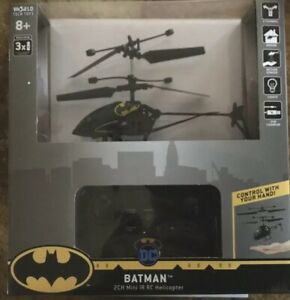 Batman - Mini RC Remote Control Helicopter - IR (Batcopter) NIB - DC Universe