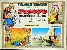 COLLANA NEW COMICS NOW COMIC ART N.157 POPEYE BRACCIO DI FERRO DAILY STRIPS 1932