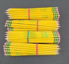 Dixon Ticonderoga Pencil Bulk Lot Of 100 Hb 2 Sharpened Premium Wood Latex Free