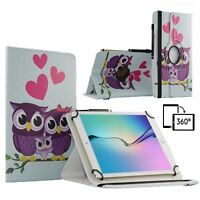 "10.1"" Leather Tablet 360 Stand Case Book Cover For Samsung Galaxy Tab A SM-T585"