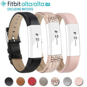 Bracelet GenuineLeather Watch Band Replacement Strap For Fitbit Alta/ Alta HR