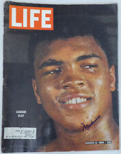 Muhammad Ali Authentic Autographed Signed Life Magazine PSA/DNA #AF03724