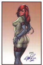 Joseph Michael Linsner SIGNED Comic Art Print ~ Cry for Dawn