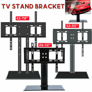 Desk Table Top TV Stand Bracket For 26-70'' LCD LED Plasma VESA Mount Universal
