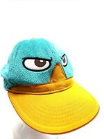 Disney Phineas and Ferb Where's Perry? Soft Plush Adjustable Baseball Cap Hat