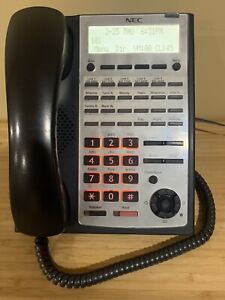NEC 1100063 IP4WW-24TXH-B-TEL (BK)  SL1100 Phone Black Tested -90 DAY WARRANTY-