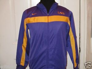 Brand New with Tag Nike LSU Tigers Youth Purple Tri-Force Full Zip Jacket