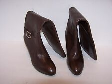 WOMEN'S BROWN ALEX MARIE BOOTS SIZE 9.5 M HIGH HEELS 99% CONDITION WORN 1 TIME