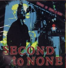 SECOND TO NONE – WRECK OF ROCK'N'ROLL CD oi! dropkick