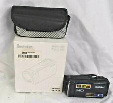 Besteker HD 1080P 24MP 16X Digital Zoom Video Camcorder Camera Blue