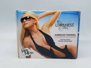 Luminess Airbrush Tanning System Complete in Box w/ DVD / Instructions CIB
