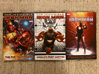 Invincible Iron Man Five Nightmares Worlds Most Wanted Matt Fraction Lot Set
