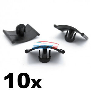 10x Vauxhall Bonnet Insulation Clip / Fastener - Corsa Astra Zafira Agila Vectra