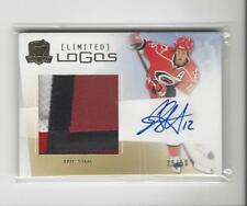 2009-10 The Cup Limited Logos Eric Staal AUTOGRAPH PATCH Hurricanes /50