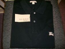 Burberry Brit men's, Sz: XL, Black, Short Sleeve Plaids & Checks Polo Shirt