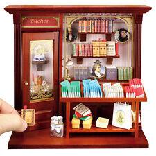 Reutter Porzellan Wandbild Buchladen Book Shop Puppenstube 1:12 Art 1.794/3