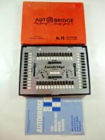 Vintage Autobridge  Deluxe Pocket Model Play Yourself Automatic Bridge Game