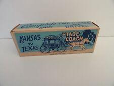 Essem Series Kansas to Texas Stage Coach Empty Box