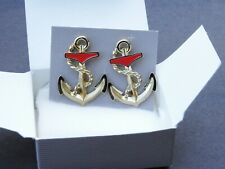 1987 Avon Anchors Aweigh Earrings