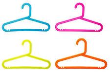 Enfants Cintre Plastique Vêtements Manteau Multicolore Set de 8