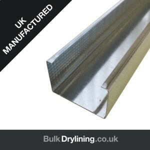 50mm METAL STUD WALL CONSTRUCTION ONLY £1.90 + VAT!!!!