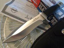 GH5055 Gil Hibben Alaskan Boot 7Cr13 Blade Black Micarta Handle Leather Sheath