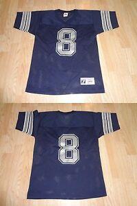 Youth Dallas Cowboys Troy Aikman L (14/16) Logo 7 (Vintage) Jersey